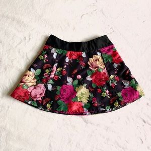 Baker by Ted Baker Floral Skirt With Flowers